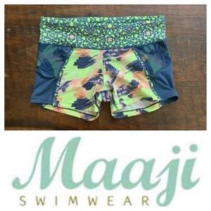 Maaji Multi Print Swim Shorts (S)